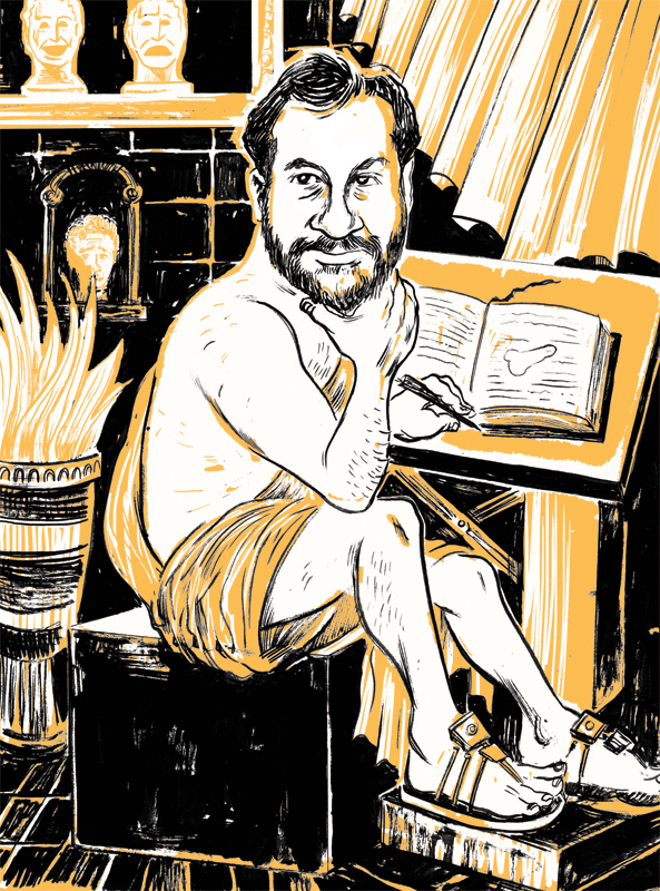 Judd Apatow for Grantland